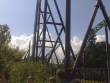 Walibi World: Goliath - Track (disappearing towards the carpark)