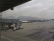 Mountain view from Hong Kong airport
