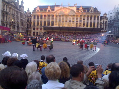 The main show on the Grand Place
