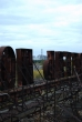 Pripyat - Hotel Polissya - Roof - Sign with Reactor 4