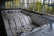Pripyat - Sports complex - Azure pool - View from catwalk 2