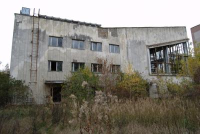 Pripyat - Sports complex - Outside