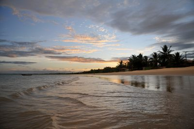 Sunset at the beach (Corumbau, Bahia, Brazil)