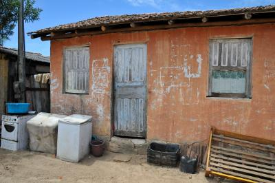 House within the village (Corumbau, Bahia, Brazil)