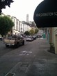 Coit Tower in the distance (Filbert Street)