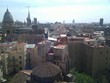 View of Barcelona from the hotel room